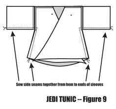 Using an A-line in a Jedi Tunic - Figure 9