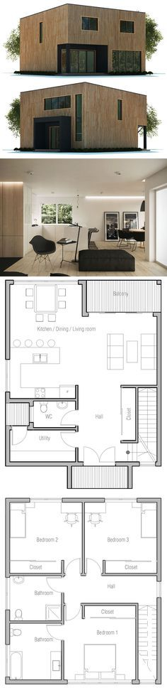 174 best 012 House Plans images on Pinterest in 2018 House floor