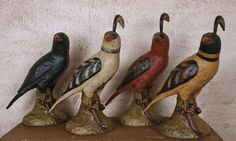 WW-FAB Folk Art Resin Birds