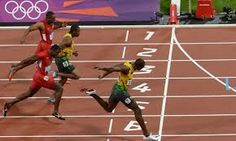 Jamaican living Legend Usain Bolt clocks the second-fastest time ever, seconds to win in London. Usain Bolt has won the gold medal in the men's at the Carl Lewis, Usain Bolt Speed, Usain Bolt Running, Usain Bolt World Record, How To Sprint Faster, Usain Bolt Olympics, Yohan Blake, Olympic Records, Speed Racer