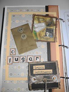 Tag & Art Scrapbook: Agenda de Viagem