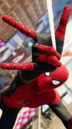 Black Spiderman, Spiderman Art, Amazing Spiderman, Spiderman Spiderman, Spiderman Drawing, Man Wallpaper, Avengers Wallpaper, Iphone Wallpaper, Hero Marvel