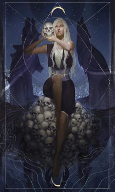 What Are Tarot Cards? Made up of no less than seventy-eight cards, each deck of Tarot cards are all the same. Tarot cards come in all sizes with all types Roman Fantasy, Dark Fantasy, Fantasy Art, Fantasy Inspiration, Character Inspiration, Character Art, Character Design, Fantasy Characters, Female Characters