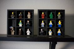 DIY Shadow Boxes for toys and figurines