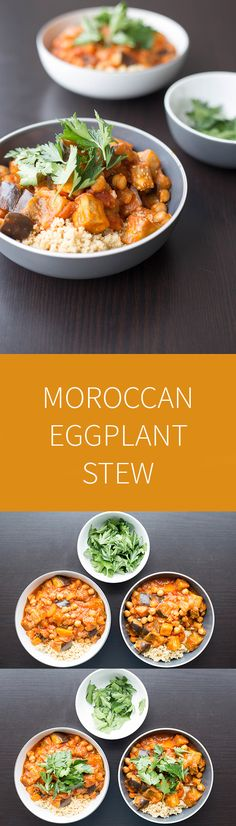 Moroccan Eggplant Stew