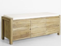 Buy high quality Reclaimed teak End of Bed Bench made from reclaimed teak wood, regular upholstery and form, available fabric color. Reclaimed Wood Furniture, Teak Furniture, Teak Wood, End Of Bed Bench, Furniture Manufacturers, Boy Room, Ikea, Upholstery, Interior
