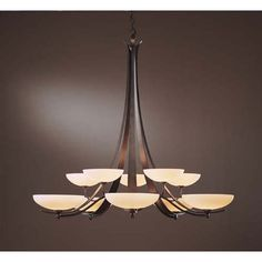 Hubbardton Forge chandelier  (links to ATX lighting store)