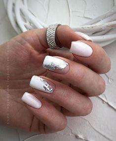 49 Classy & Stylish Short Nail Art Designs - Hair and Beauty eye makeup Ideas To Try - Nail Art Design Ideas Short Nail Manicure, Manicure Nail Designs, Nail Art Designs, Manicure Ideas, Gel Nail, Nail Ideas, Colored Acrylic Nails, Best Acrylic Nails, Chic Nails