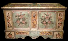 Tyrolean chest, 1803