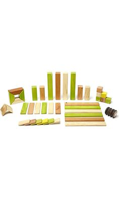 42 Piece Tegu Magnetic Wooden Block Set, Jungle Best Price