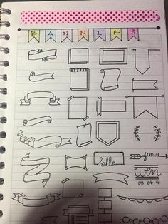 Image gallery – Page 581175526887276516 – Artofit Bullet Journal Headers, Bullet Journal Banner, Bullet Journal 2020, Bullet Journal Aesthetic, Bullet Journal Ideas Pages, Bullet Journal Inspiration, Journal Fonts, Doodle Lettering, School