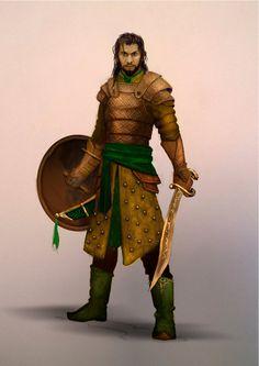 Fantasy Warrior by Schnedler.deviantart.com on @DeviantArt