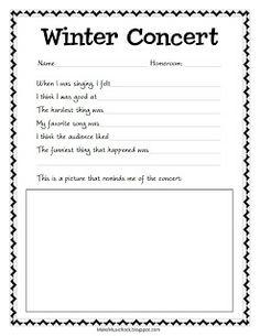 Make Music Rock!: Winter Concert Reflection