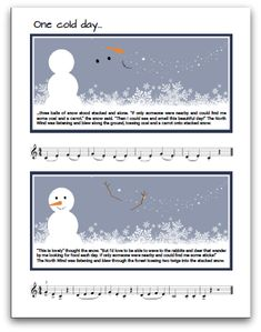 A Wintery Articulation Adventure To Warm Up Chilly Piano Fingers