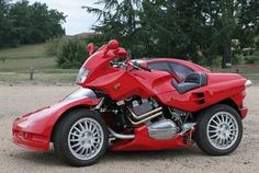 Laverda Motorcycle with an Attached Car - Elite Choice