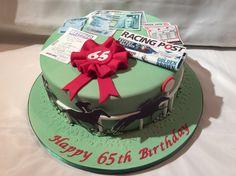 Dad Birthday Cakes, 80th Birthday, Graham Cake, Racing Cake, Cupcake Cakes, Cupcakes, Dad Cake, Friends Cake, Horse Cake