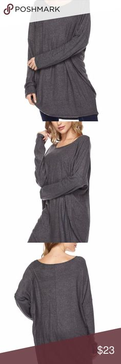 PLUS SIZE Solid Fleece Dolman Sleeve Tunic Top PLUS SIZE Solid Fleece Dolman Sleeve Top Kick back and relax. This soft and cozy lightweight fleece tunic top with dolman sleeve is the ideal choice for when you want to forget your troubles and curl up in comfort. 92% Polyester/ 8% Spandex Made in USA. The model is wearing size 1XL** Tops Tunics