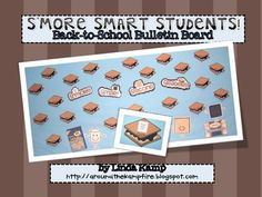 Back to School bulletin board idea.  Includes display for grades K-3.  Free!