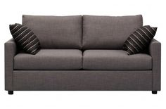 Bass Fabric Double Sofa Bed