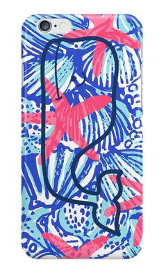 Vineyard Vines She She Shells For iPhone 6 5s 5 Hard Case Cover #LANCase