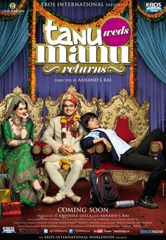 Tanu Weds Manu Returns 2015 Full Movie Download Link check out here : http://movieplayer.website/hd/?v=2140465 Tanu Weds Manu Returns 2015 Full Movie Download Link Actor : Kangana Ranaut, Madhavan, Jimmy Shergill, Deepak Dobriyal 84n9un+4p4n