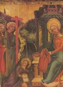 Another image of Mary sewing