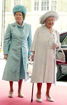 The Queen Mother and Princess Margaret in June of 2000.