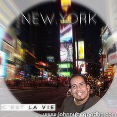 Desde el corazón de New York capital del Mundo la ciudad de nunca dormir... Saludos en esta noche linda...