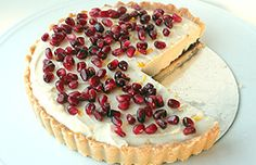 Apple and pomegranate Tarte Tatin | Baking :: Charlie Makes Cakes ...