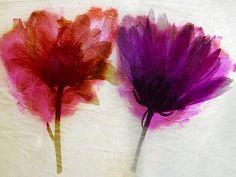 #flowers #painting #red #purple