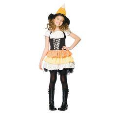 Kandy Korn Girls Halloween Costume