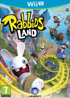 Rabbids Land (Wii U) Nintendo Adult owned only played once video game Nintendo Wii U Games, Wii Games, Games For Toddlers, Games For Teens, Xbox 360, Dvd Box, Pirate Boats, Tunnel Of Love, New Video Games