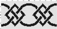 Questi schemi possono anche essere utilizati per i lavori a maglia!