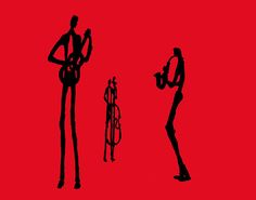Jazz Trio In Red 2