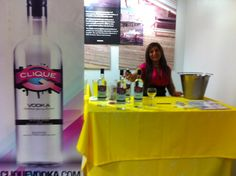 "Clique Vodka visited to make us ""Mardi Party"" & ""Mountain mojo"" drinks for our Mardi Gras Inspiration Thursday"