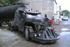 18 wheeler batmobile. We'd drive it!