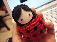 Matrioshka-ladybug :)