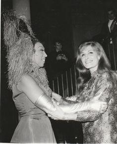 Josephine Baker et Dalida