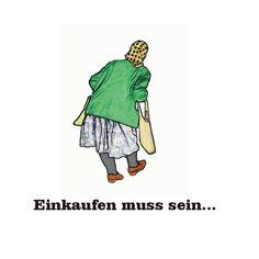 Alltagsgeschichten     Alte Menschen müssen auch einkaufen ...jeden Tag...und das mit Mühe Entwurf: Sonja Weirather
