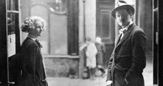 Sylvia Beach and James Joyce. Photograph: AFP/Getty Images