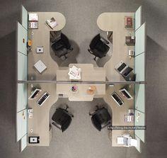 사무실 도면 - Google 검색 Office Space Planning, Small Space Office, Open Office, Modern Office Design, Office Interior Design, Office Interiors, Office Floor Plan, Office Workstations, Office Setup