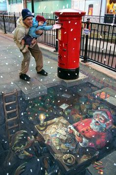 Beautiful Street Art sidewalk chalk art SAS Chalk Sidewalk Art Jaw-Dropping Sidewalk Art Julian Beever is a chalk artist. 3d Street Art, Amazing Street Art, Street Art Graffiti, Amazing Art, Street Mural, Graffiti Artwork, Graffiti Lettering, Graffiti Artists, Amazing Photos