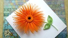 Quilling Flowers Tutorial: Quilling flowers wiht a comb tutorial. Quill...