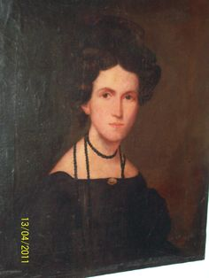 Rachel Stevens ca 1836.  Purchased w/ documentation 2011.