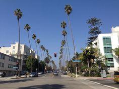 Cruisen durch Los Angeles