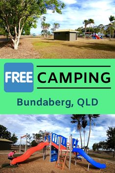 FREE camping right in Bundaberg at Hinkler Lions Tourist Park. Toilets, dump point, playground, potable water, rest stop. Video walk-around tour. Working Holiday Visa, Working Holidays, Camping Spots, Camping Hacks, Bundaberg Rum, Australia Tourism, Boat Tours, Trip Planning, Family Travel