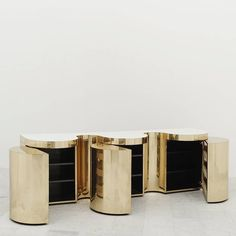 Paul Evans, Cylindrical Console, USA, circa 1980 3