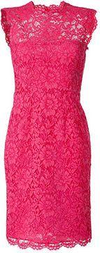 Valentino Hot Pink Lace Dress