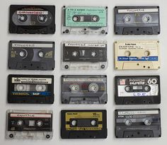 The good old cassette tape.