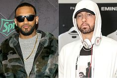 During a new interview with Zane Lowe on Beats Joyner Lucas confirms he and Eminem have a new collaboration and discusses his upcoming 'ADHD' project. Joyner Lucas, Eminem, Adhd, Collaboration, Interview, Mens Sunglasses, Celebs, 2pac, Beats